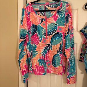 Lilly Pulitzer Luxletic SunShirt